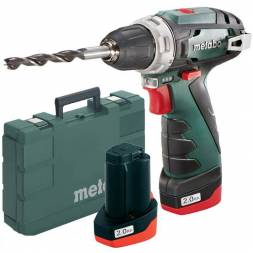 Акумуляторная дрель-шуруповерт Metabo PowerMaxx BS Basic